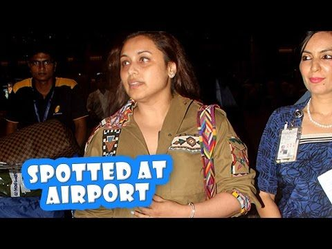 Rani Mukerji Spotted At Mumbai Airport | Latest Bollywood Movies News 2016 - (More info on: http://LIFEWAYSVILLAGE.COM/movie/rani-mukerji-spotted-at-mumbai-airport-latest-bollywood-movies-news-2016/)