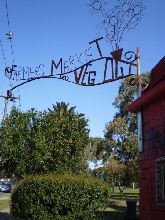 Farmers Market, Veg Out, St Kilda, Melbourne