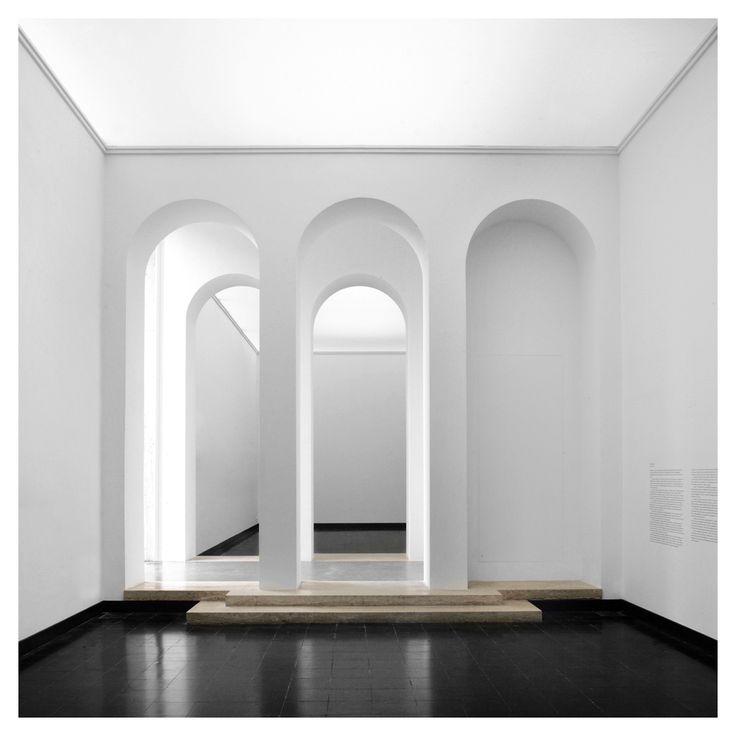 Interior of the Austrian Pavilion at the Venice Beinnal 2013 by Kuehn Malvezzi.