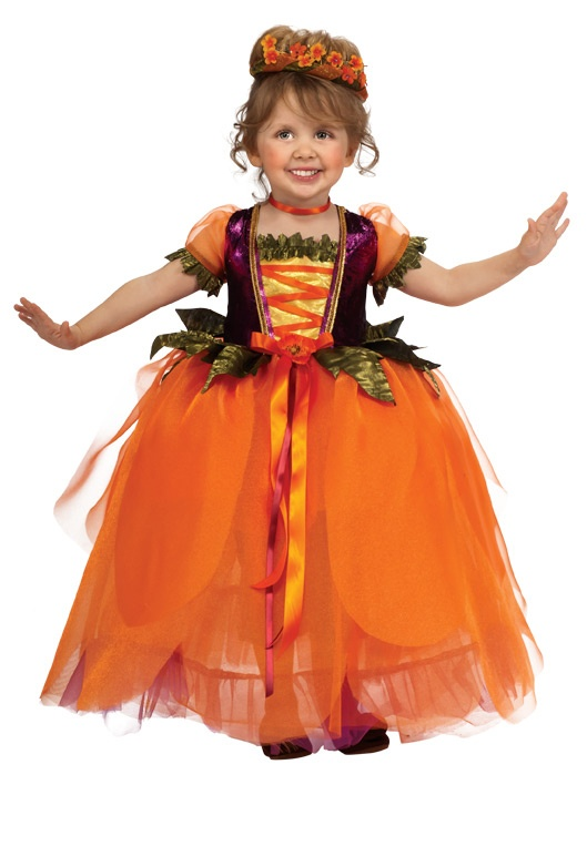 Pumpkin Princess Deluxe Toddler Costume | Princess Costumes | Dress Up Costumes  www.facebook.com/PumpkinPatchTV