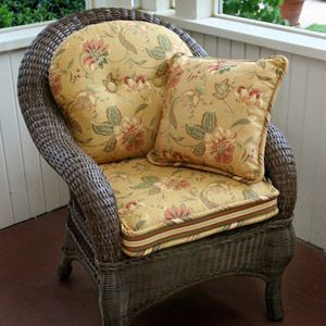 We make custom replacement cushions so you can beautify your better outdoor  patio furniture, including