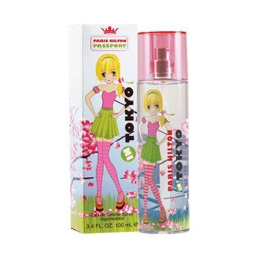 Passport Tokyo 3.4 Oz Eau De Toilette Spray By Paris Hilton New In Box For Women
