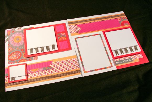 layout by Michelle Snyder using CTMH Dream Pop paper