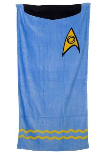 Star Trek Mr Spock Beach Towel