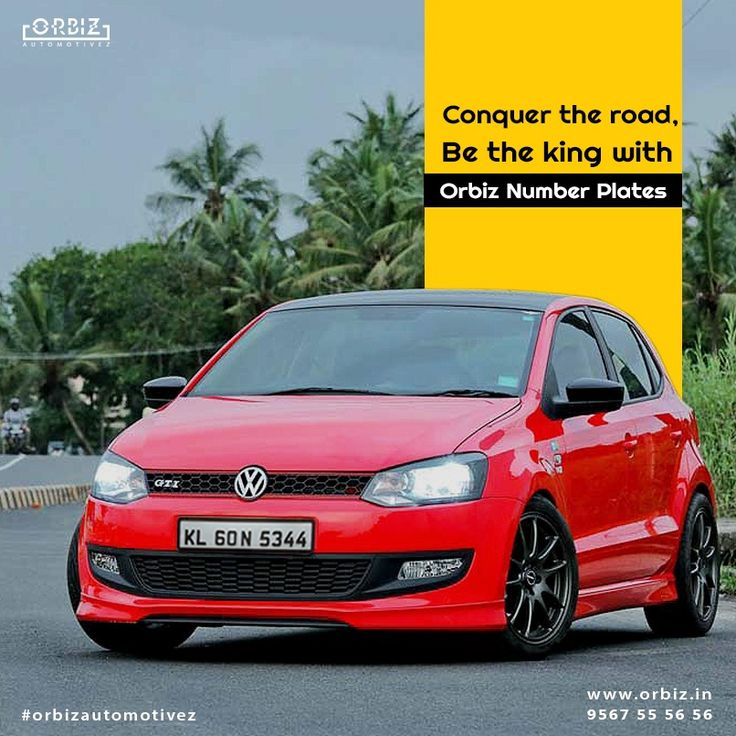 The streets are filled with Cars, Be the King among them with Orbiz number plates. #Orbiz #OrbizAutomotivez #NumberPlates #CarNumberPlates #HighQualityNumberPlates