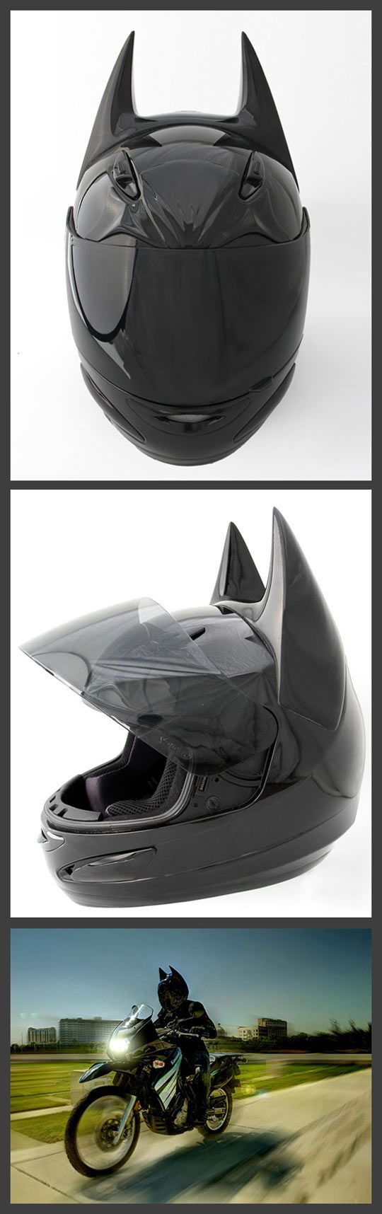 Batman helmet yes please!
