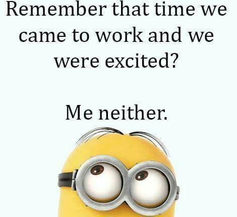 Love My Job Funny Quotes : funny quotes funny minion funny sayings funny pics funny shit funny ...