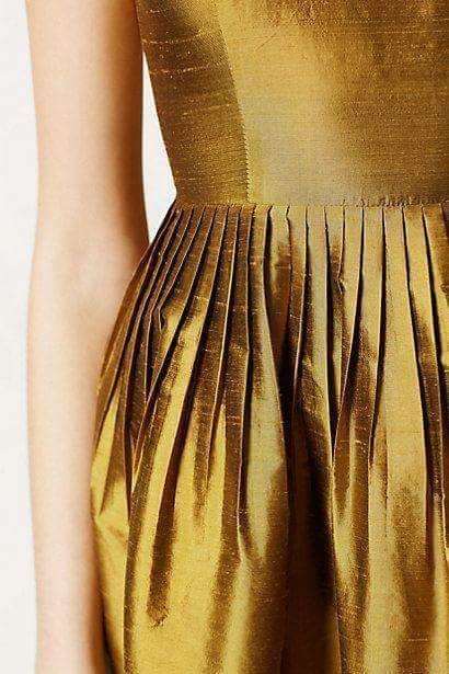 Elegant Gold Dress