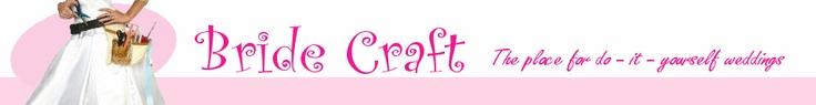 <3 this website! DIY wedding crafts