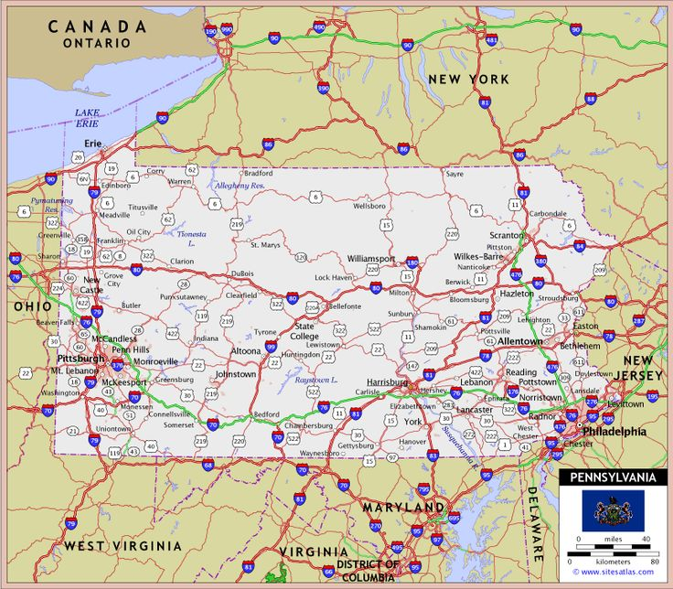 Best Map Of Pa Images On Pinterest Maps Pennsylvania And - Pennyslvania map