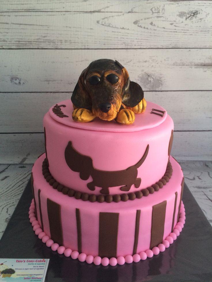 Teckel taart!