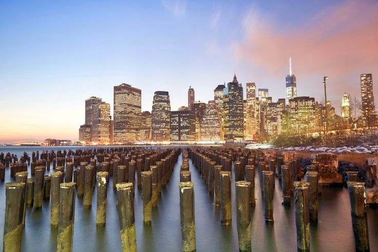 Down on the East River by Justin Bereman on 500px .//  Lower Manhattan...