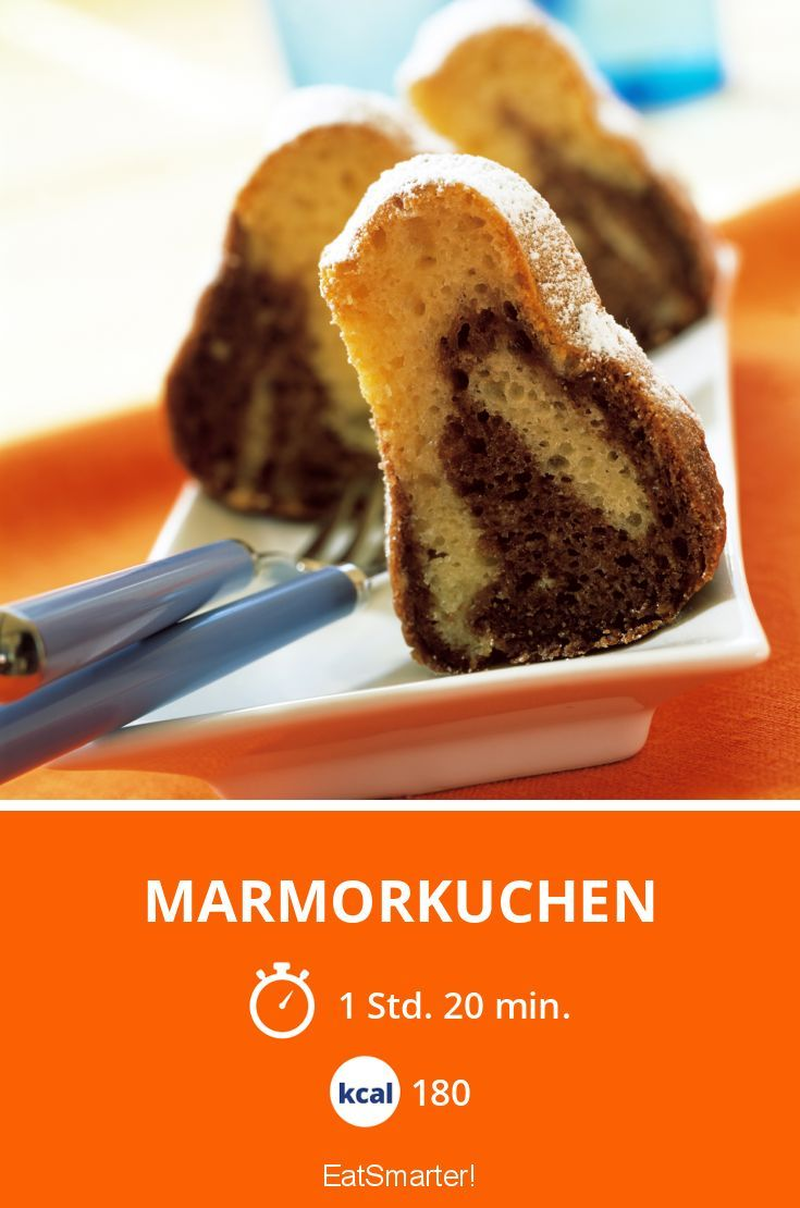 Marmorkuchen - smarter - Kalorien: 180 Kcal - Zeit: 1 Std. 20 Min.   eatsmarter.de
