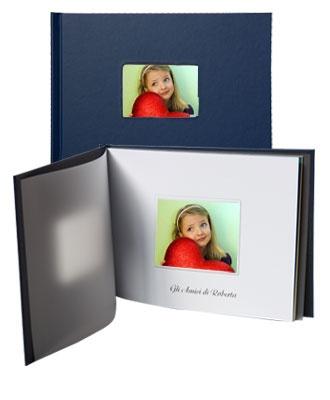 Stampa fotolibri online, Gold il fotolibro con copertina rigida e con finestra.  Componi subito con Photoboost3d
