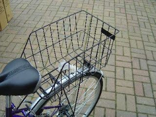 diy rear bike basket | Rear baskets