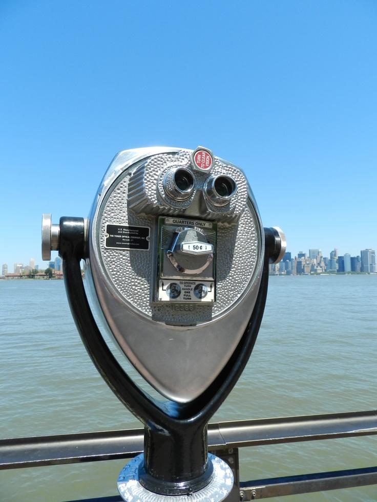 I saw you!.  Liberty Island; NY/USA. Mayo 2012.  bye Andrea Bórquez N.
