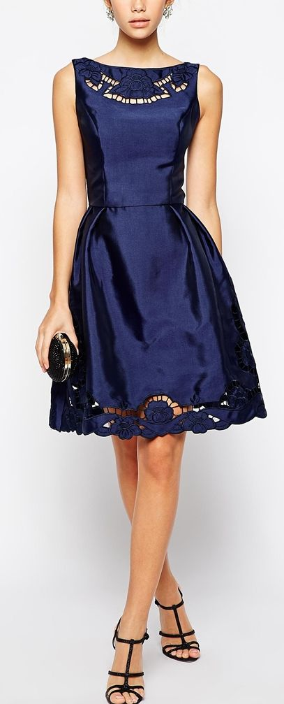Royal blue wedding guest dress - but, hey wear it anywhere...a stunner