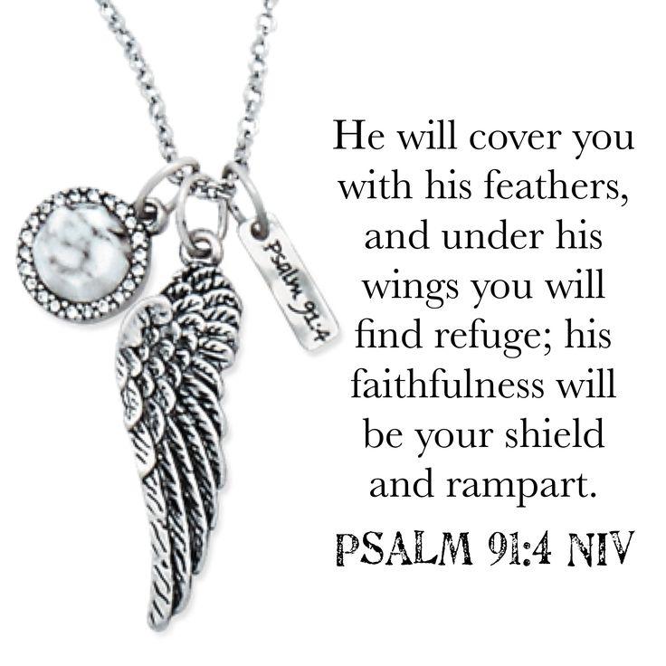 Premier Designs Psalms 91:4 Necklace