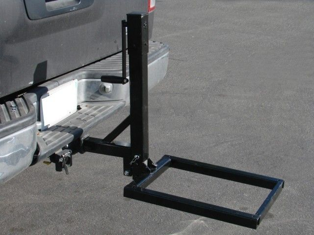 Raise/Lower Hitch Mount Cargo Carrier Lift Hauler Trailer ...