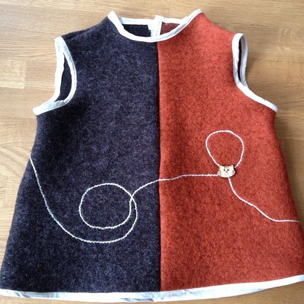 Tunika i ull #handmade - @dragemamma- #webstagram