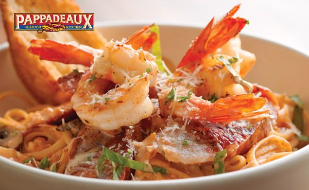 Pappadeaux Seafood Kitchen - Pasta Mardi Gras