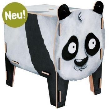 Werkhaus Shop - Hocker Vierbeiner - Panda