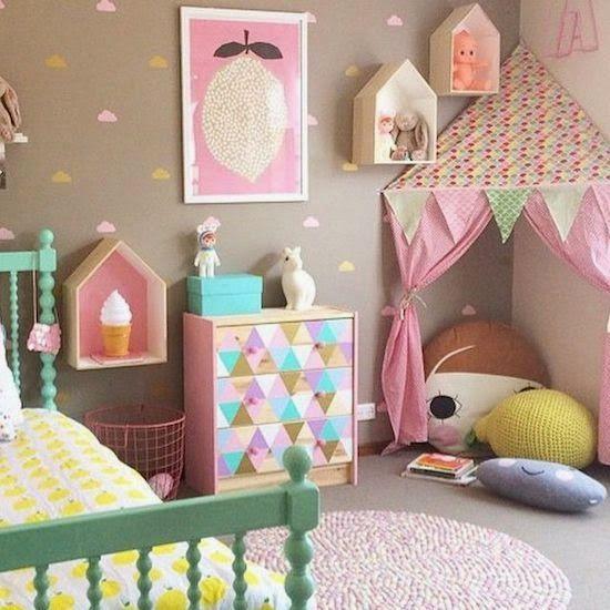 Ideias para Decorar Quarto de Menina - http://coisasdamaria.com/ideias-para-decorar-quarto-de-menina/