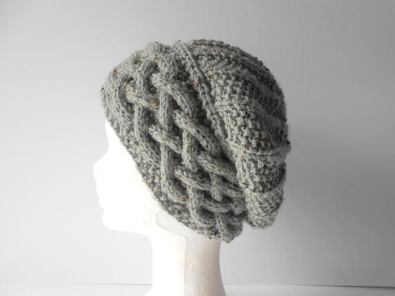 08d863ed750 Cable knit beanie