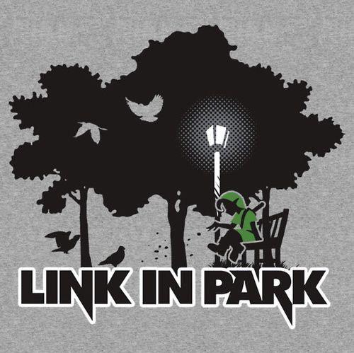 Estampa de camiseta Link in Park inspirada no game The Legend of Zelda | Geek Sexy Club