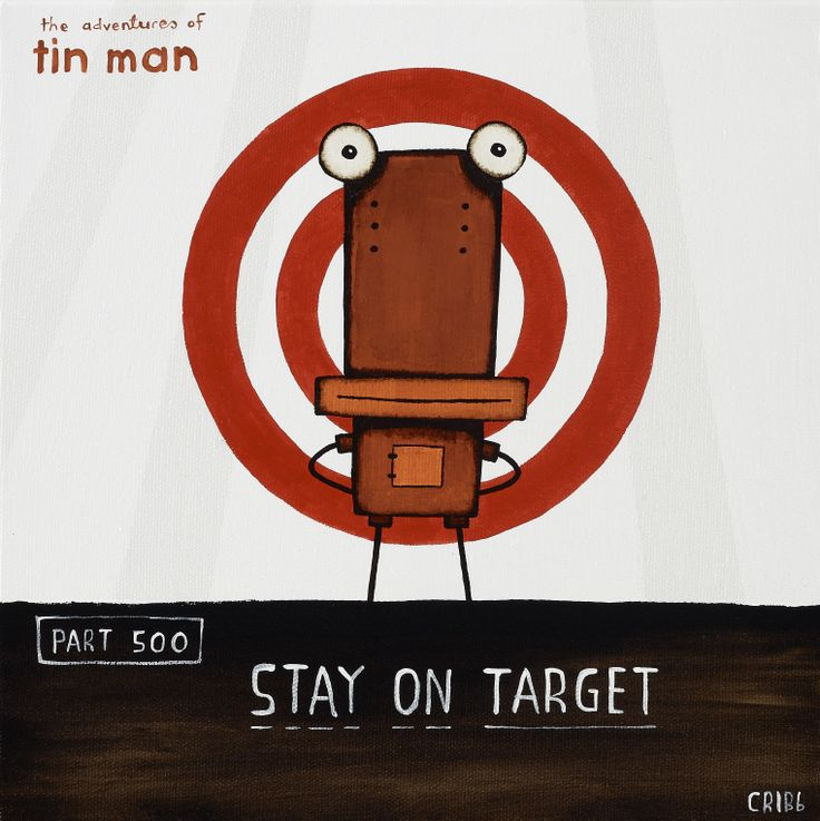 Stay on Target by Tony Cribb. Print from imagevault.co.nz