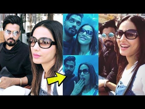 Hina Khan Trip With Boyfriend Rocky Jaiswal In Dubai Her Family