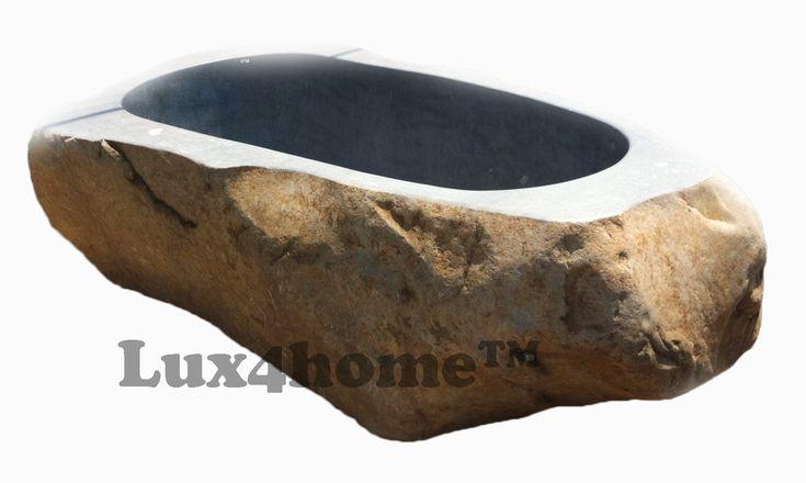 #Wanna z kamienia polnego Lux4home™. Wanna z kamienia ma wymiary dopasowane do oczekiwań klienta, nawet jeśli jest to wanna z kamienia polnego. Waga wanny z kamienia polnego uzależniona jest o jej rozmiaru podobnie jak cena wanny z kamienia. Kamień polny charakteryzuje się tym, że zawsze jest inny. Zapraszamy do współpracy - wanna z kamienia cena uzależniona jest od jej wielkości i okresu zamówienia.  #wanny #kamiennawanna #kamien #wannastojaca #wannazkamienia #wannazkamieniapolnego…
