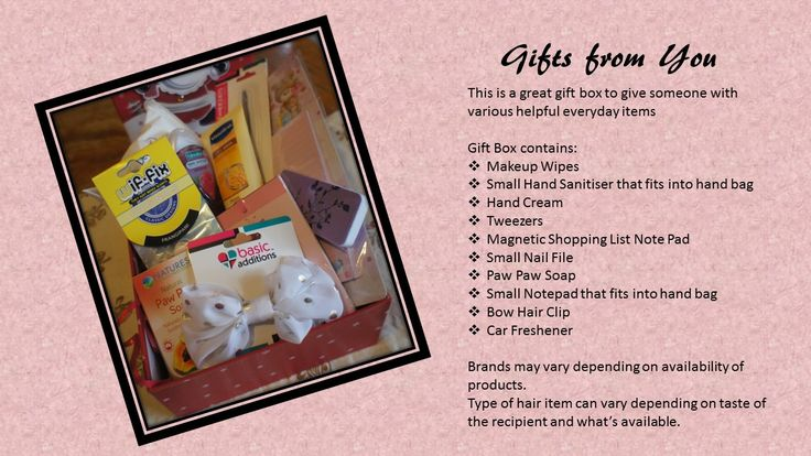 #Gift for any age.  Box, Hamper or Post.