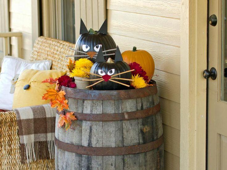 1black cat pumpkin