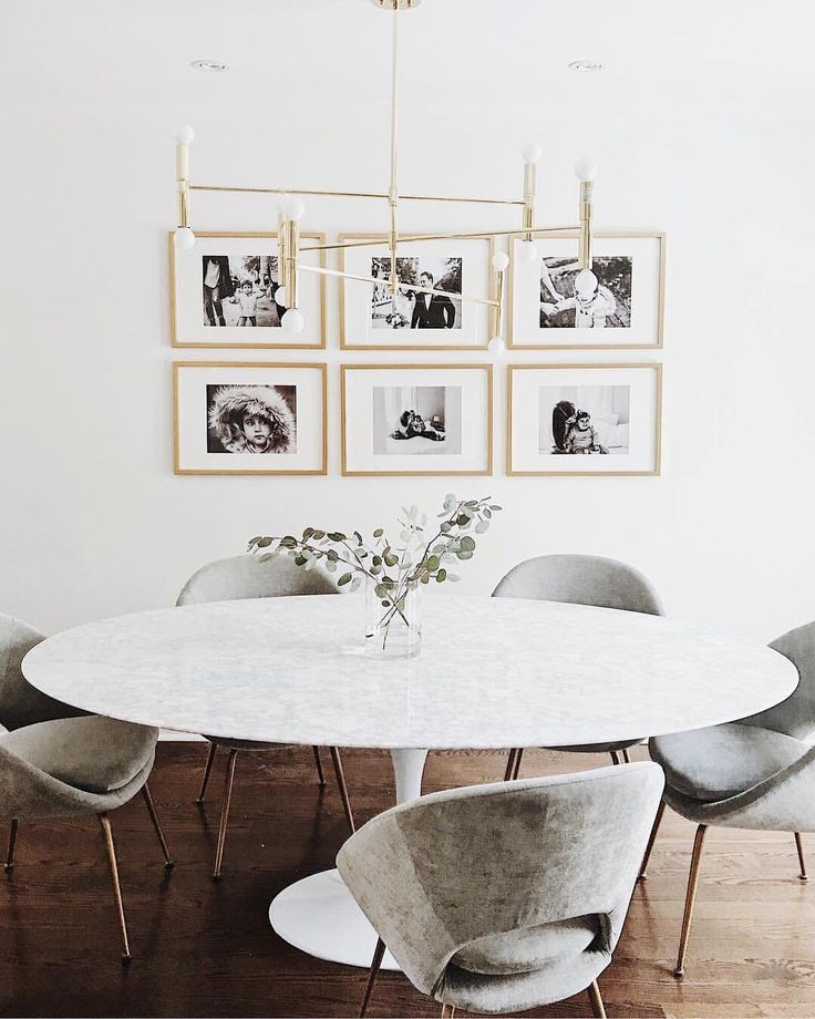 "11.8k Likes, 82 Comments - west elm (@westelm) on Instagram: ""Our Upholstered Orb Dining Chairs make for one well-rounded dining room. Shop on westelm.com!…"""