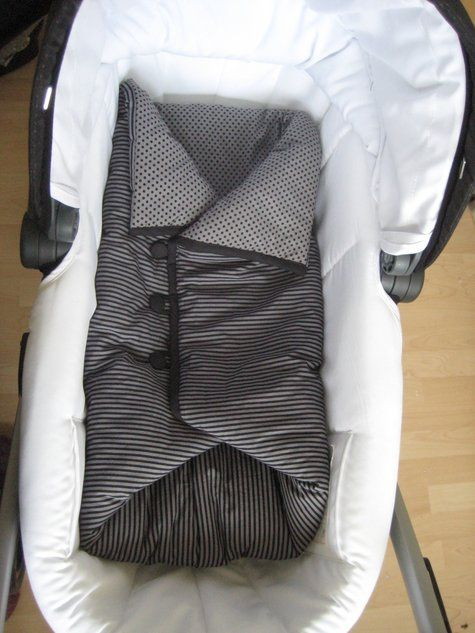 Baby Sleeping Bag - no pattern but good pictures