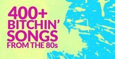 Totally The Best 80's Music Playlist Ever #80s #Music #Playlist