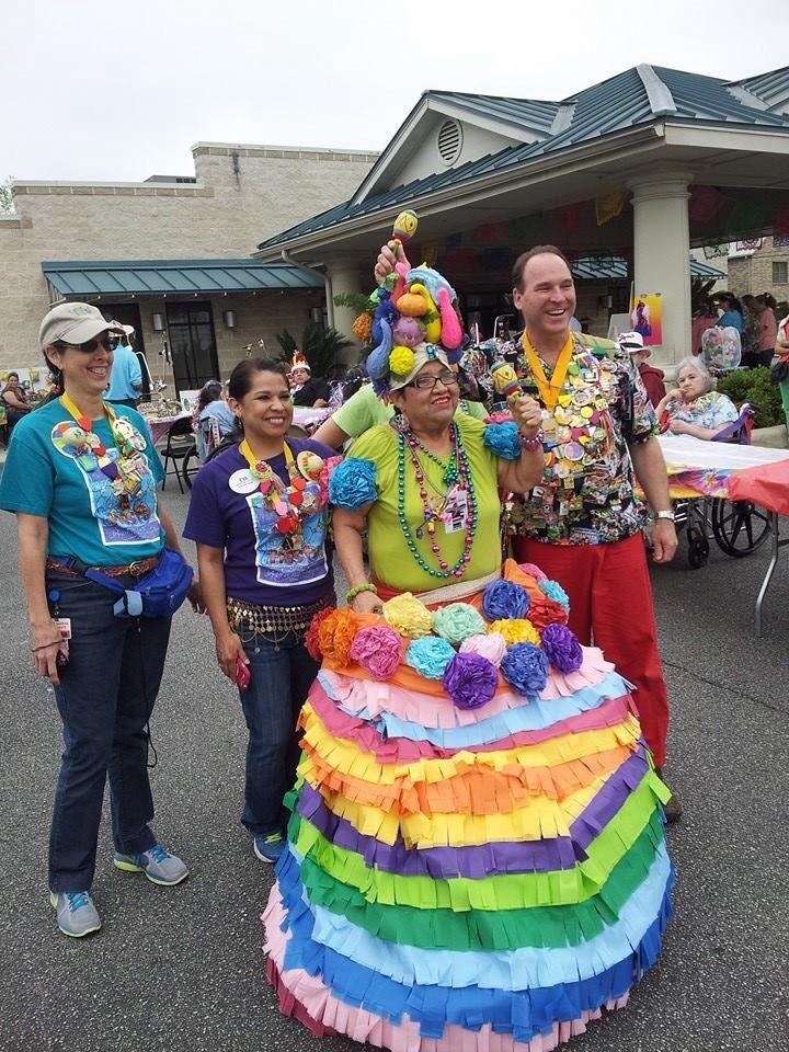 Fiesta winner at memorial nursing home best decorated