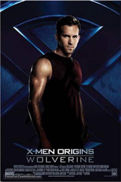 X Men Origins Wolverine Movie Poster X Men Wolverine Movie Wolverine