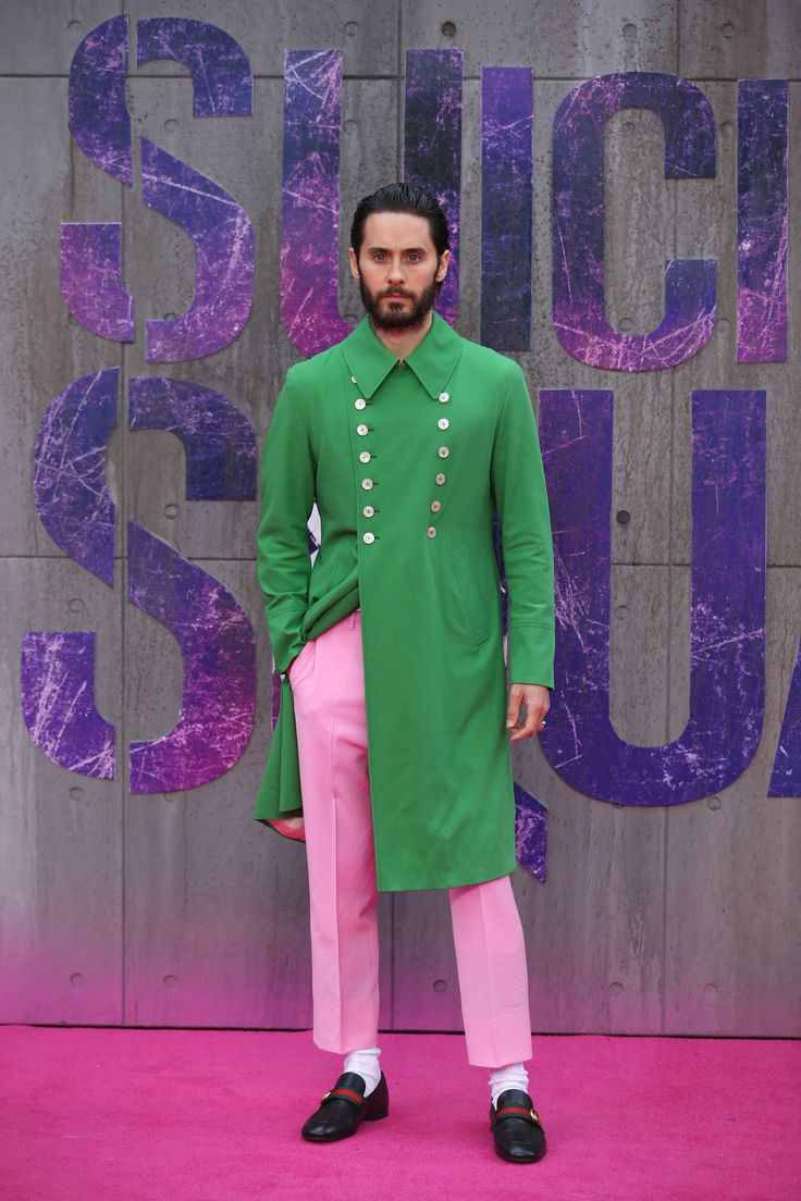 Jared Leto fell head-over-heels for a magnificent green jacket six weeks ago at Gucci's men's fashion show.