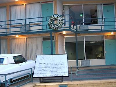 The Lorraine Motel and National Civil Rights museum in Memphis, TN. This is also the location of Martin Luther King's assassination