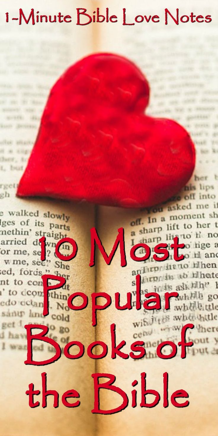 10 Most Popular Books of the Bible according to Bible Gateway. Check out this quick list with a summary of each of the 10 books most read on BG.