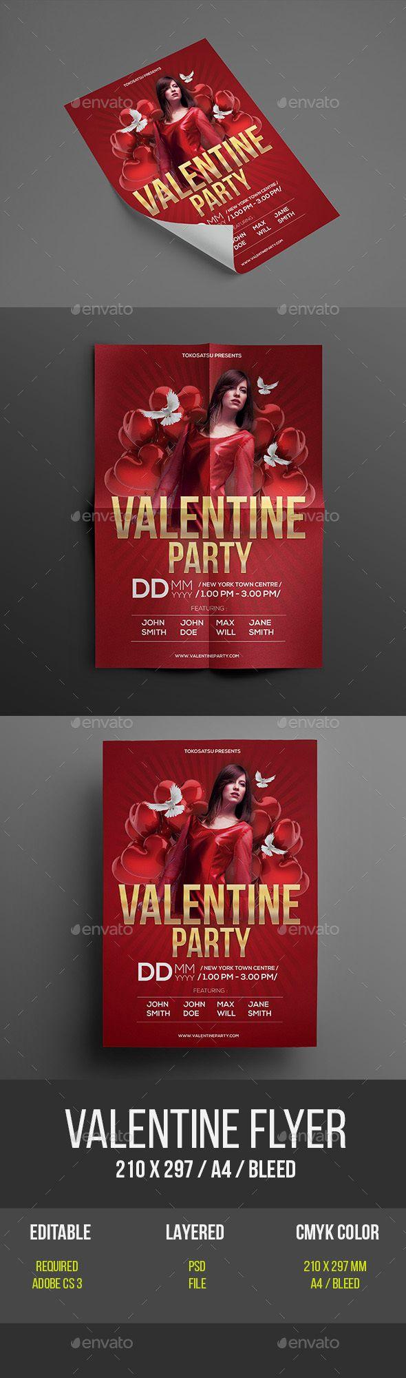 flyer vs poster