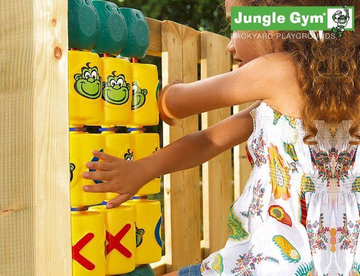 Tic Tac Toe - climbing frame #PinToPlay #JungleGym