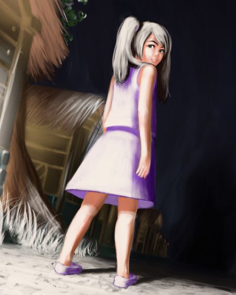 [Girl with a Heart of] In this 2D adventure game, take the role of Raven, an eleven year old girl, who learns that she is the key piece in stopping the inevitable destruction of her town.