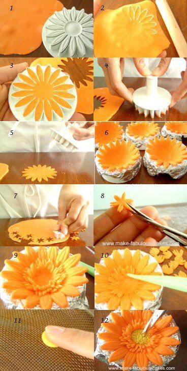 From http://www.make-fabulous-cakes.com/gum-paste-gerbera-flower.html