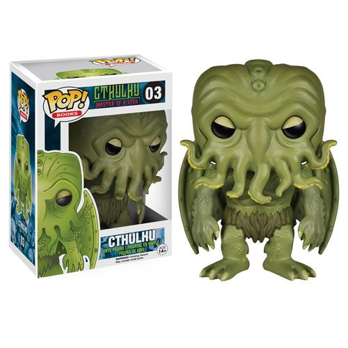 H.P. Lovecraft Cthulhu Pop! Vinyl Figure - Funko - Cthulhu - Pop! Vinyl Figures at Entertainment Earth