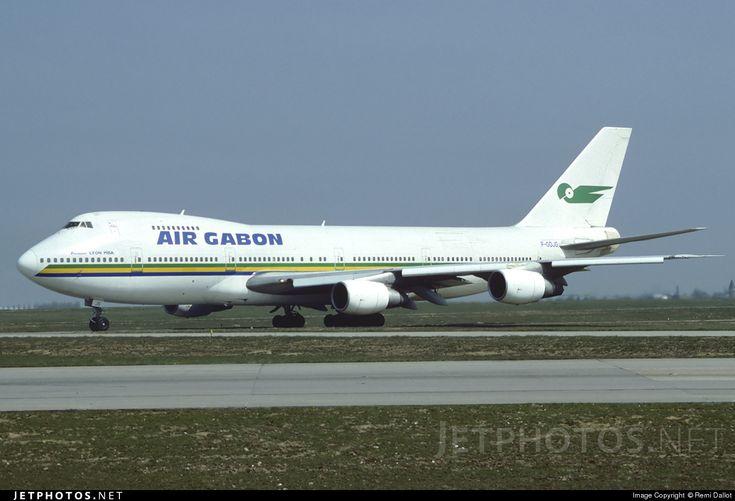 High quality photo of F-ODJG (CN: 21468) Air Gabon Boeing 747-2Q2B(M) by Remi Dallot