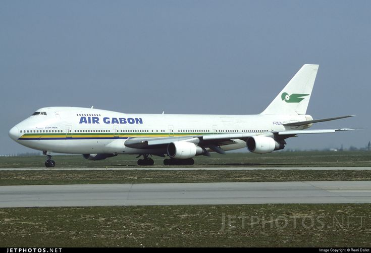 High quality photo of F-ODJG (CN: 21468) Air Gabon Boeing 747-2Q2B(M) by Remi Dallot