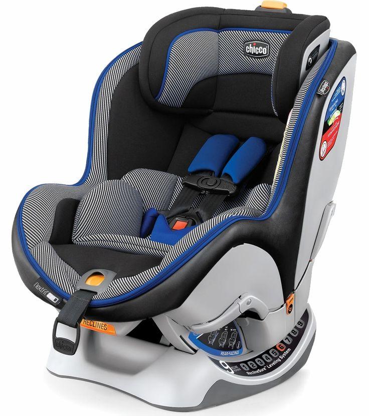 Cadeirinha para Automóvel NextFit Zip - Preta e Azul - Chicco